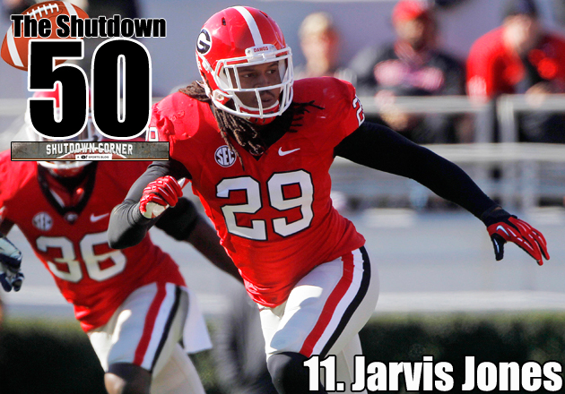 The Shutdown 50: Georgia OLB Jarvis Jones
