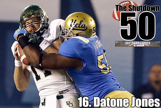 The Shutdown 50: UCLA DL Datone Jones