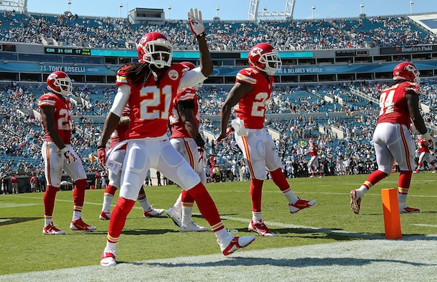 Jacksonville fans didn't stick around during the Chiefs' shella…
