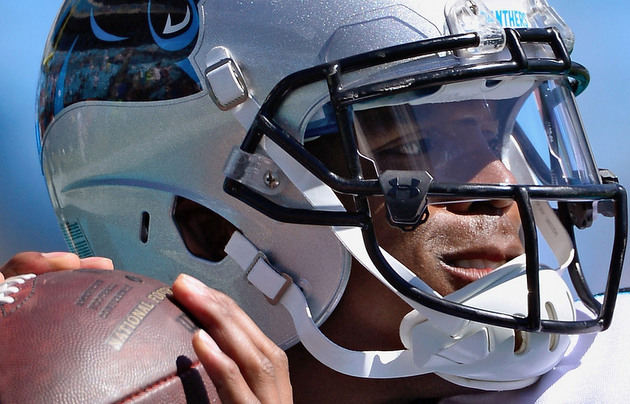 Can you spot the uniform violation that Cam Newton has gotten a…
