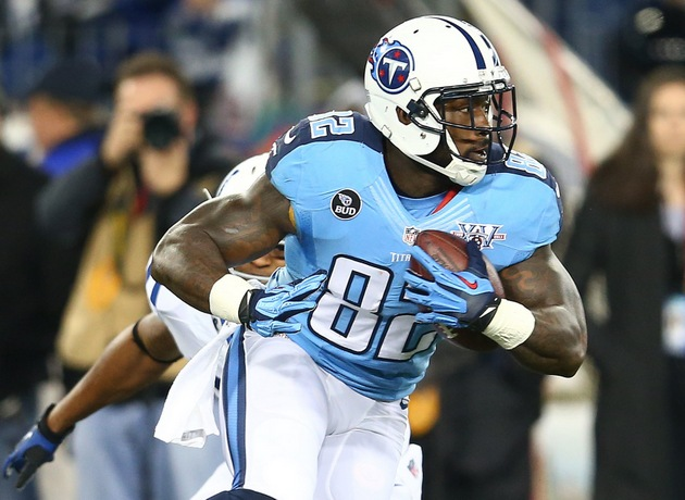 Erik Walden headbutts Delanie Walker; Walker throws punch; both…
