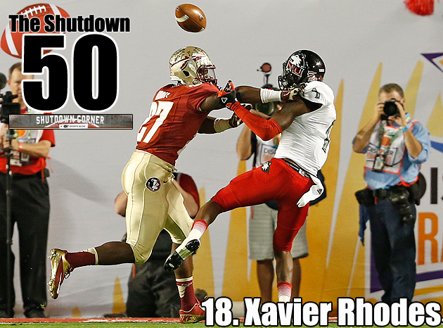 The Shutdown 50: Florida State CB Xavier Rhodes