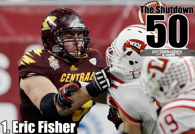 The Shutdown 50: Central Michigan OT Eric Fisher