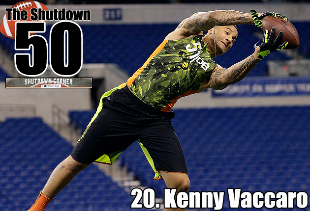 The Shutdown 50: Texas S Kenny Vaccaro