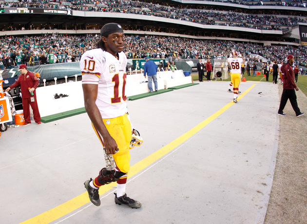 Robert Griffin III rollercoaster continues as late pick sinks R…