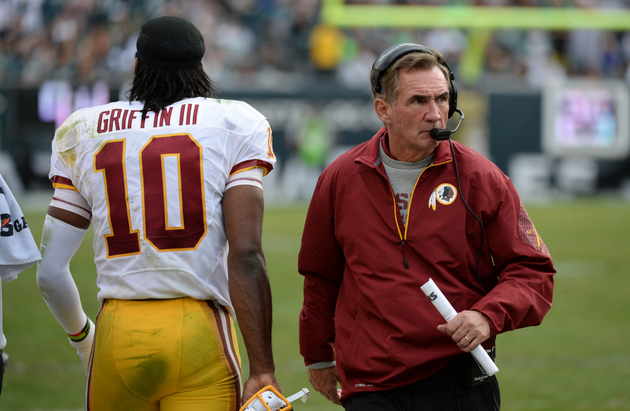 Was Robert Griffin III calling out Redskins' game-planning?