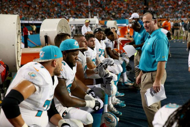 Miami Dolphins fire OL coach, head trainer following ugly Wells…