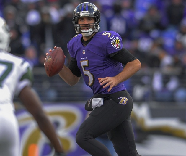 Joe Flacco thinks 'Wildcat' package makes Ravens look like 'a h…