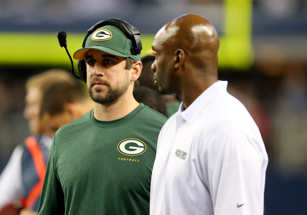 Green Bay Packers quarterback Aaron Rodgers ruled out, will mis…