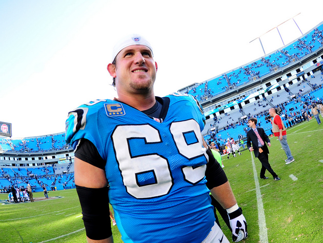 Carolina Panthers tackle Jordan Gross will announce his retirem…