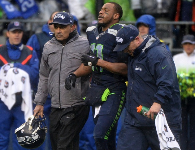 Percy Harvin among three Seahawks to sit out Wednesday