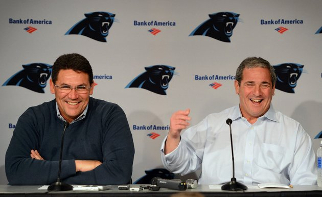 Carolina Panthers give head coach Ron Rivera three-year extensi…