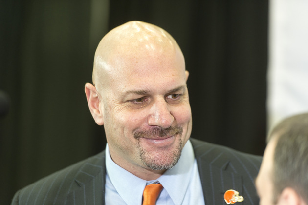 Browns coach Mike Pettine not worried about the Jim Harbaugh 'n…