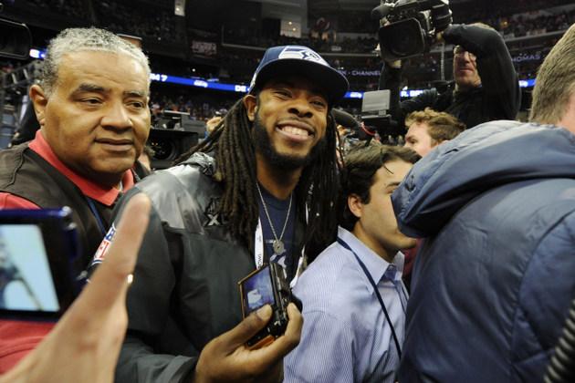 Seattle Seahawks' Richard Sherman says he enjoys the city of Ne…