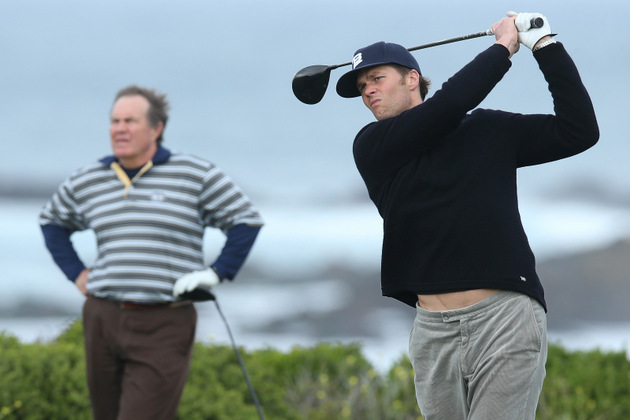 Golf pro not surprised Bill Belichick, Tom Brady dominate the l…
