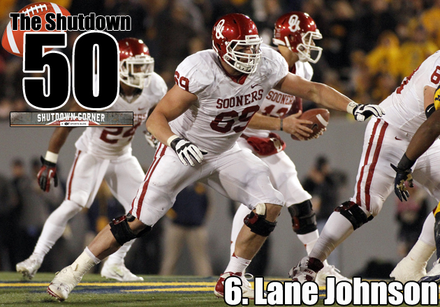 The Shutdown 50: Oklahoma OT Lane Johnson