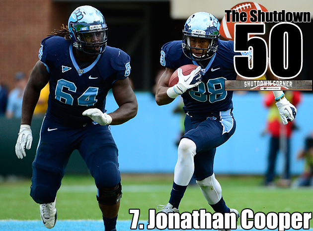 The Shutdown 50: North Carolina OG Jonathan Cooper