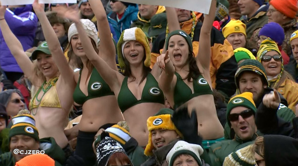 Green Bay forecast: 19 degrees, windy and a chance of sports br…
