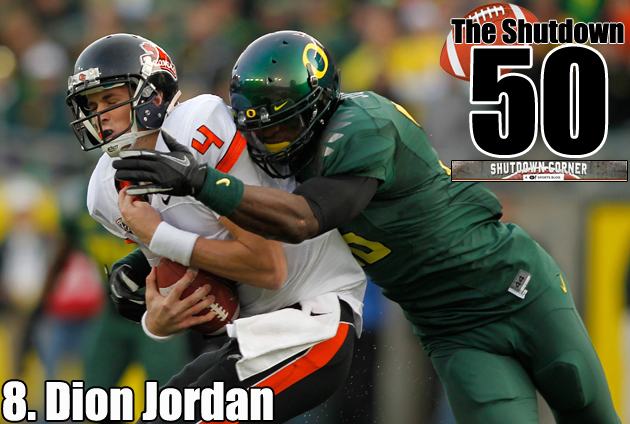The Shutdown 50: Oregon OLB/DE Dion Jordan