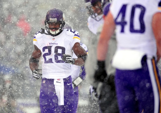 Vikings running back Adrian Peterson blasts Ravens fans and NFL…