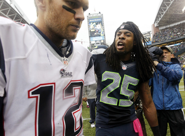 Patriots quarterback Tom Brady on Seahawks' Richard Sherman: 'W…