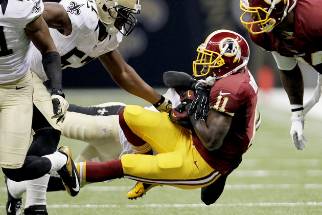 Two Redskins hurt during collision in pregame warmups, declared…