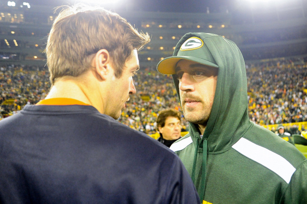 Report: Packers quarterback Aaron Rodgers could miss at least t…
