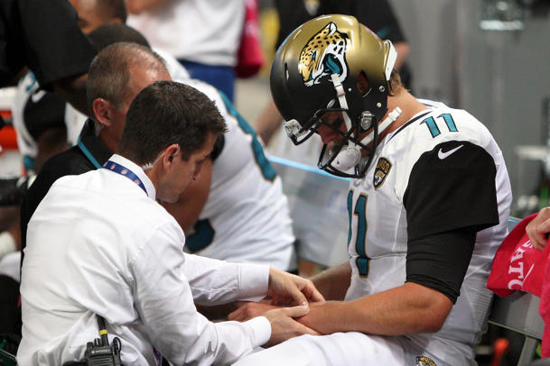 Jaguars quarterback Blaine Gabbert expected to miss Broncos gam…