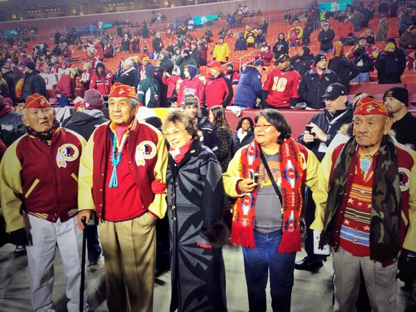 Were Redskins earnest in honoring Navajo Code Talkers during Mo…