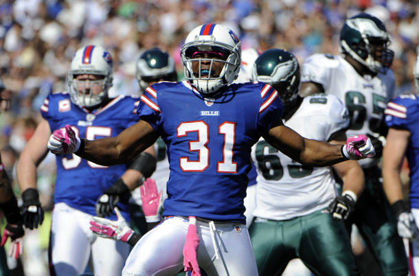 Report: Buffalo Bills looking to trade safety Jairus Byrd