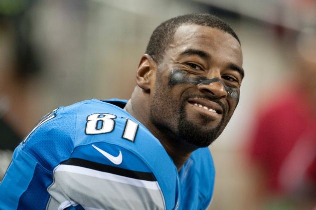 Lions receiver Calvin Johnson played with finger 'pointing perp…