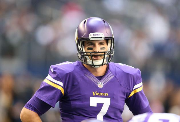 Minnesota Vikings quarterback Christian Ponder will start again…