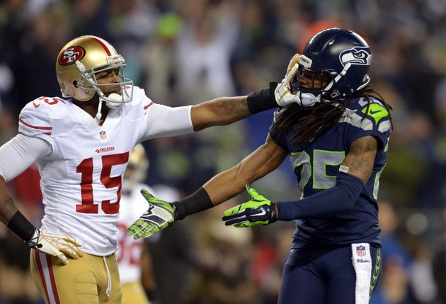 Seahawks' Richard Sherman regrets attacking 49ers receiver Mich…