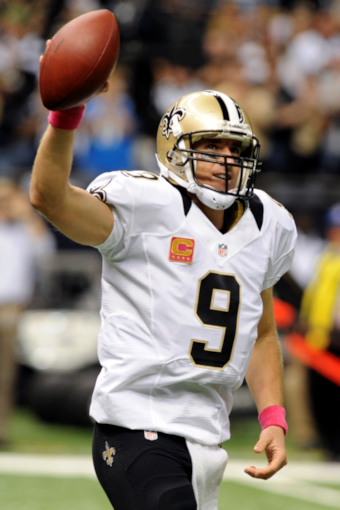 Terry Bradshaw didn't like how Drew Brees celebrated his record…