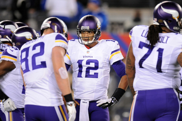 Vikings quarterback Josh Freeman will start against the Packers…
