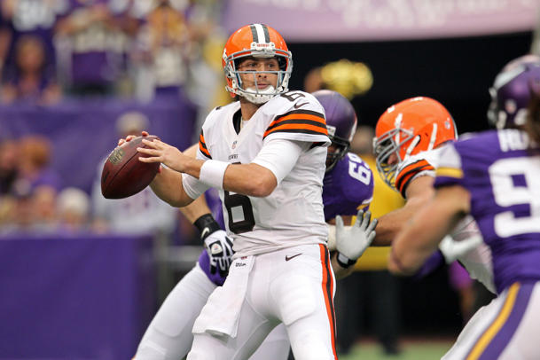 Cleveland Browns quarterback Brian Hoyer will make second start