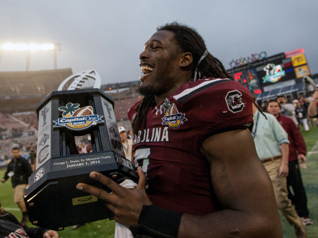 NFL Draft: Jadeveon Clowney says critics 'that are talking can'…