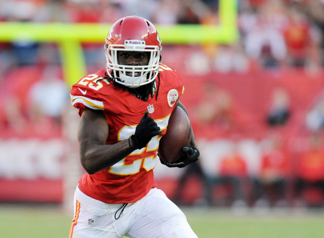 NFL by the numbers: Jamaal Charles doing it all in Chiefs offen…