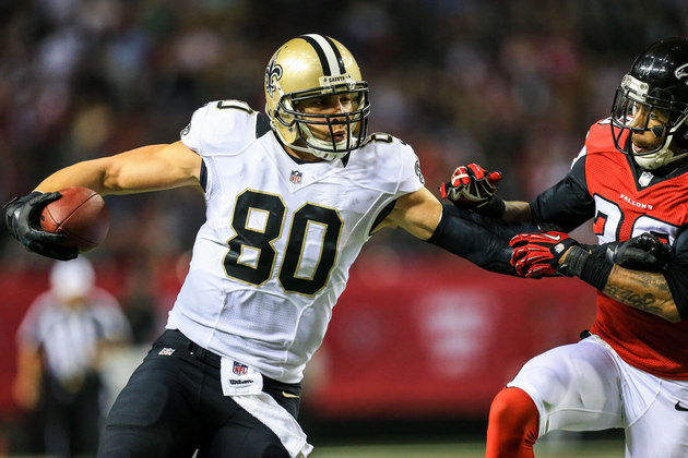 Saints tight end Jimmy Graham not worried about contract talks