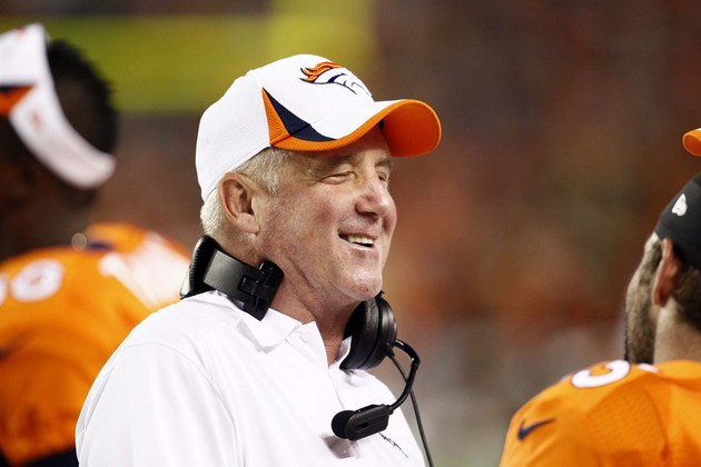 Denver Broncos coach John Fox hopes to return before the end of…