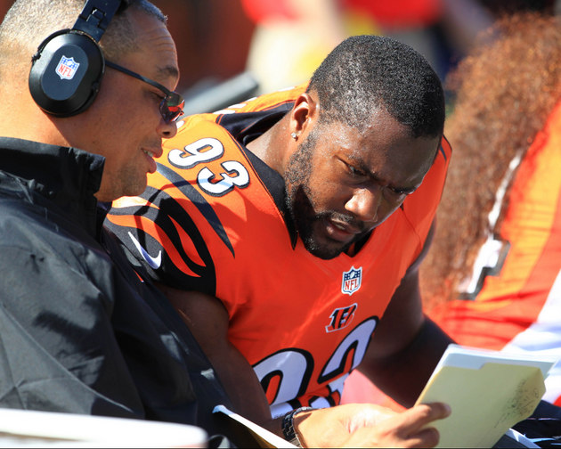 Cincinnati's Michael Johnson has a message for Bengals fans who…