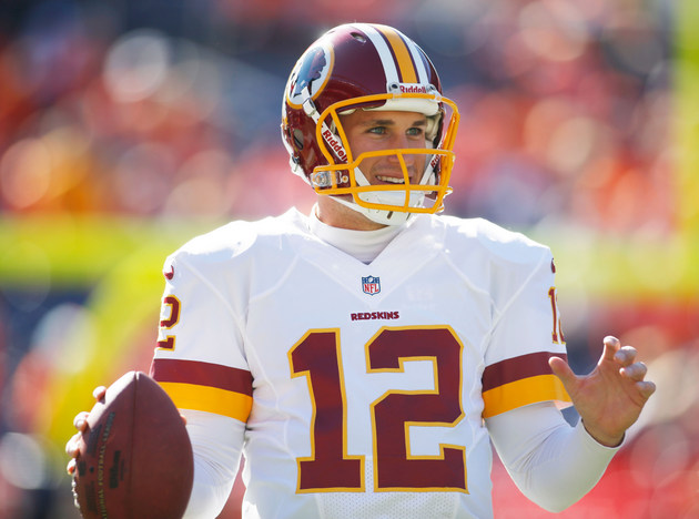 Redskins quarterback Kirk Cousins says 'I absolutely love the S…