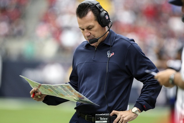 Texans report: Kubiak dislikes 