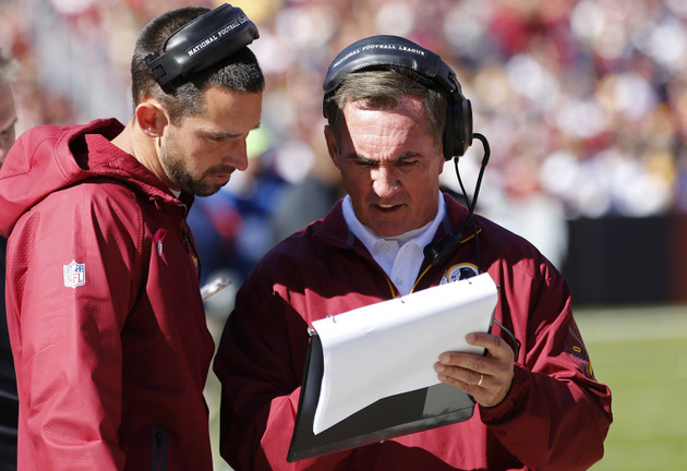 Washington Redskins coordinator Kyle Shanahan reportedly ready …