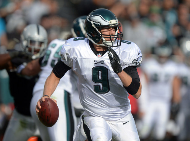 Eagles coach Chip Kelly refuses to say Nick Foles will start on…
