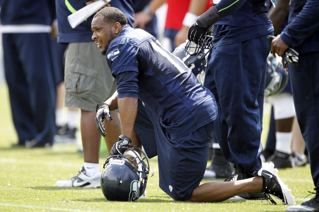 Seattle Seahawks receiver Percy Harvin returns to practice