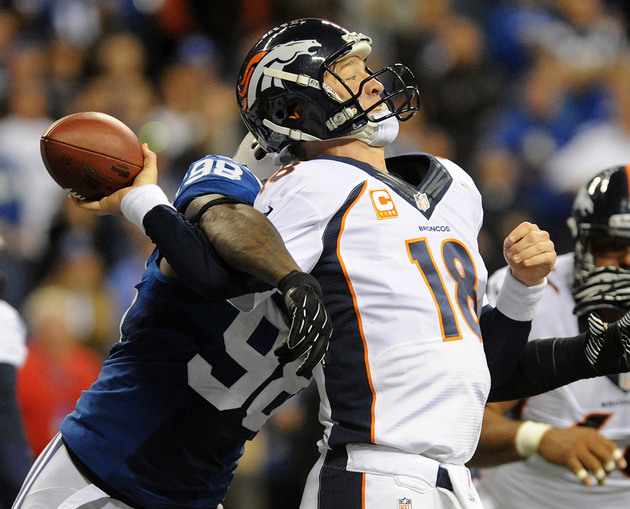 Broncos quarterback Peyton Manning misses practice due to minor…