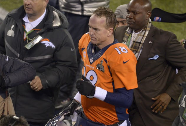 Twitter treats Peyton Manning just like Seattle's defense did