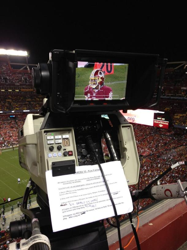ESPN had 'RGIII injury camera' ready if the Redskins quarterbac…