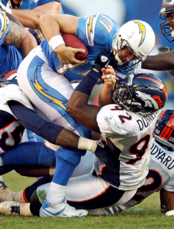 Broncos' special teams miscues give Chargers early lead
